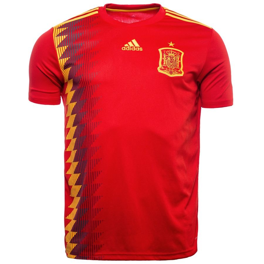 fbe1a726d TFC Football - ADIDAS SPAIN FEF YOUTH HOME 2018 WORLD CUP JERSEY