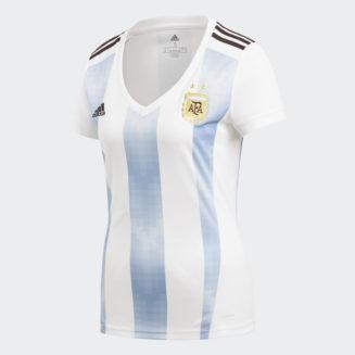 4067801e8 WOMEN ARGENTINA HOME REPLICA 2018 WORLD CUP JERSEY · ADIDAS