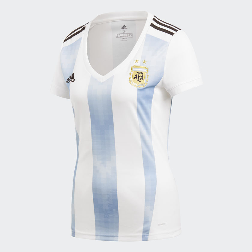 8ddb85672f54f TFC Football - ADIDAS WOMEN ARGENTINA HOME REPLICA 2018 WORLD CUP JERSEY